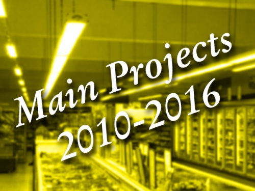 Main Projects (2010-2016)