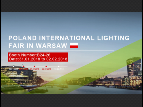 Poland International Lighting Fair dated on 31th Jan-2nd Feb.